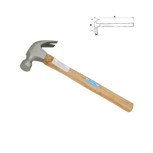 Taparia Claw Hammer with Handle