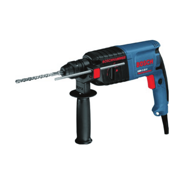 Bosch Rotary Hammer with SDS-plus GBH 2-22 E (620 W, 2.3 Kg, 0 – 1000 rpm)