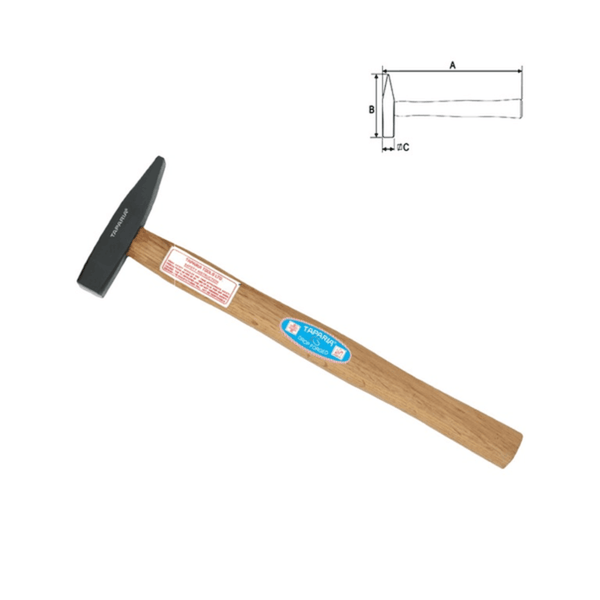 Taparia Machinist Hammer with Handle