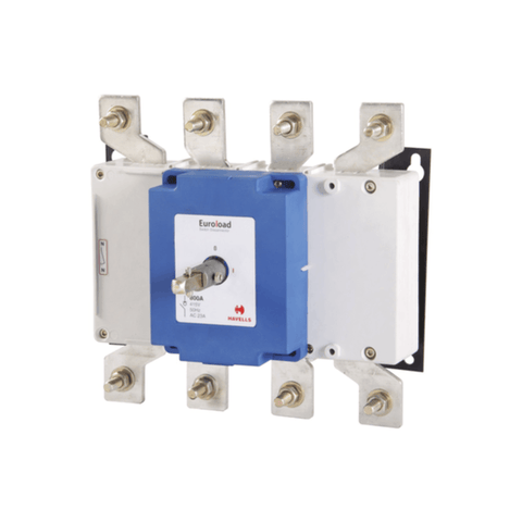 Havells Euroload Switch Disconnector Size (3) 4 Pole OE 800A - IHCSFO0800