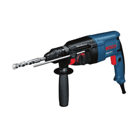 Bosch Rotary Hammer with SDS-plus GBH 2-26 E (800 W, 2.7 Kg, 0 – 900 rpm)