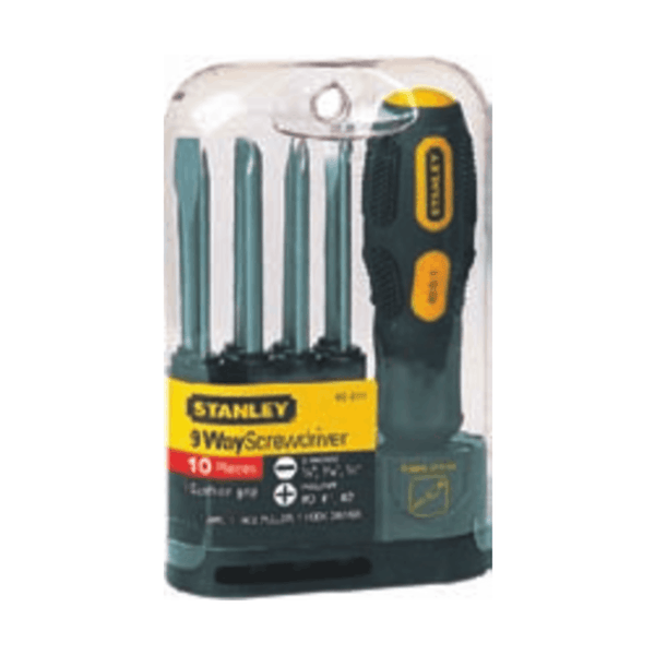 Stanley 9 Way Screwdriver Set 62-511-22