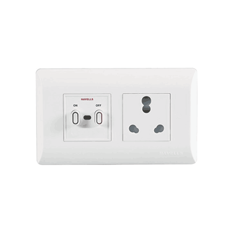 Havells Modular Coral 32A Power Unit AHLO322504