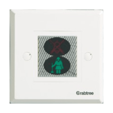 Havells Crabtree Thames DND/CMR Room Indicator 2M ACTIRIW060