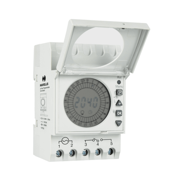 Havells Programmable Time Switch 24 Hour DHTDD15016