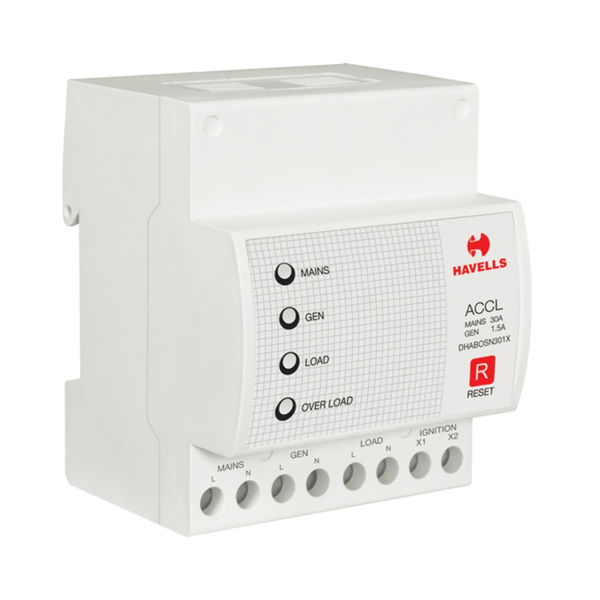 Havells Premiun SPN ACCL (Automatic Source Changeover with Current Limiter) w/o GEN Start/Stop
