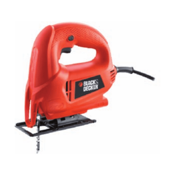 Black & Decker Variable Speed Jig Saw KS600E (450 W, 0 – 3000 spm)