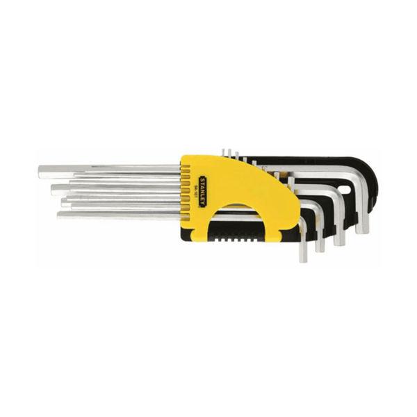 Stanley 12 Pc Imperial Hex Key Set - Extra Long 94-161