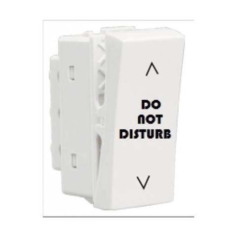 Havells Crabtree Thames Do Not Disturb Switch Two Way 1 M ACTSNX102