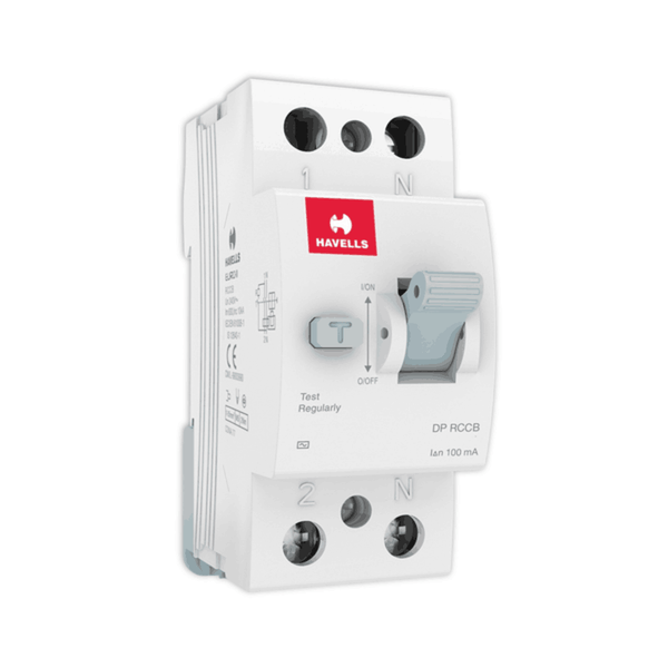 Havells RCCB – AC Type DP 100mA