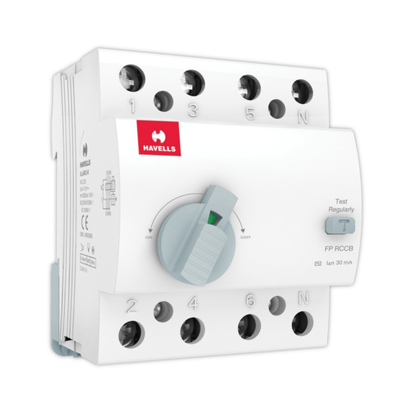 Havells RCCB – AC Type FP 30mA