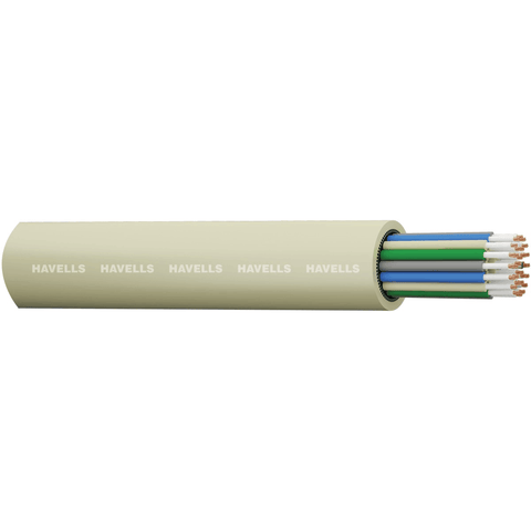 Havells Unarmoured 0.5 mm ATC Telecom Switch Board Cables - 180 meters