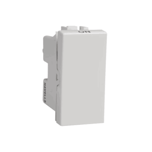 Havells Modular Coral 16Ax 1 Way Switch AHCSXXW161