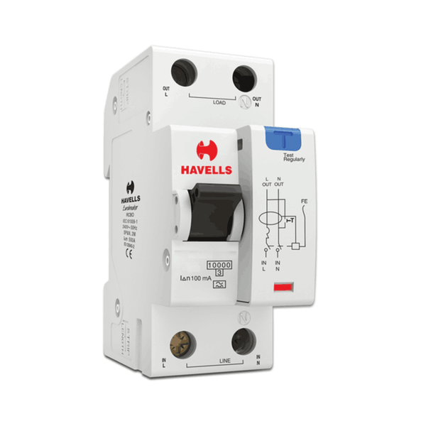 Havells RCBO - A Type (SPN – 2M) 100mA