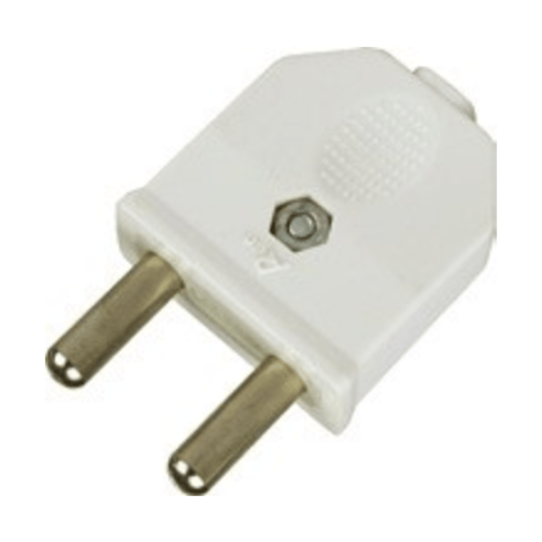 Havells Reo 6A 2 Pin Plug Top - AHEGXXW062