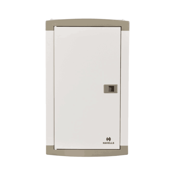 Havells TP&N (for Single Phase Outgoing) suitable for MCB / RCCB / Isolator as incomer -  Regal  Grey (SD)