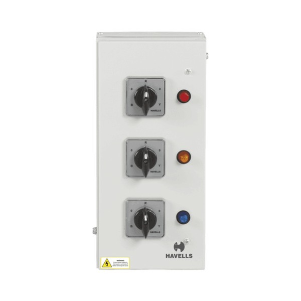 Havells Phase Selector Enclosure (Vertical)