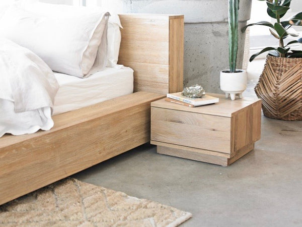 Totem Road Sustainable Solid Oak Bed