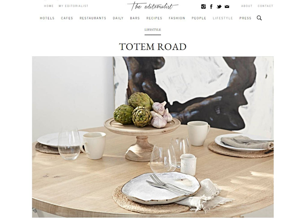 The Editorialist - Lifestyle Furniture Brand Totem Road