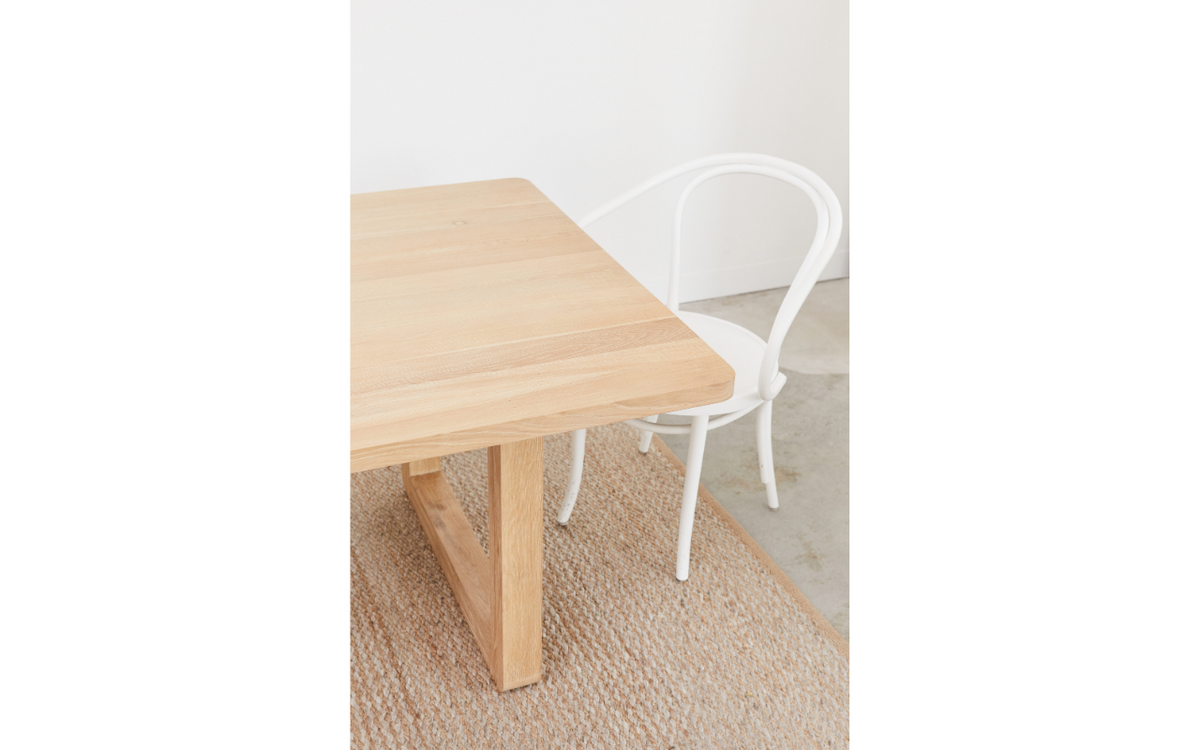 Nova Rectangle Dining Table 2400mm - Sample