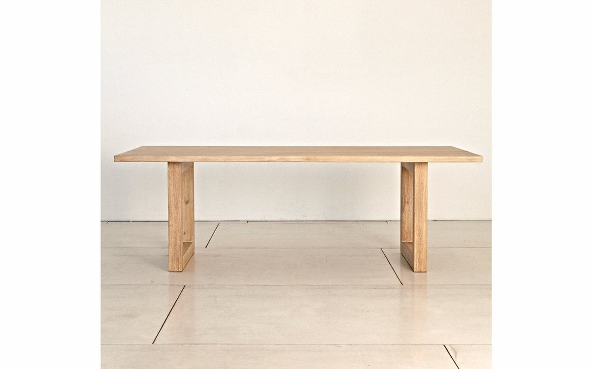 Luxa Rectangle Dining Table 1800MM Natural