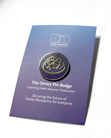 The Orrery Pin Badge