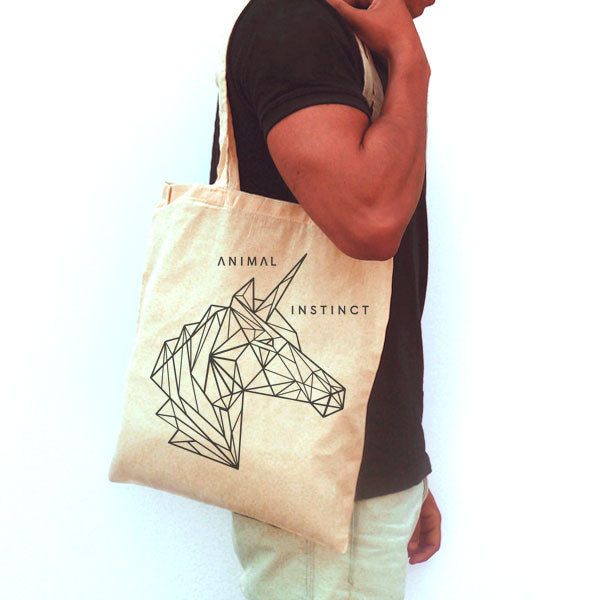 "Bolsa de Tela ""Animal Instinct"""