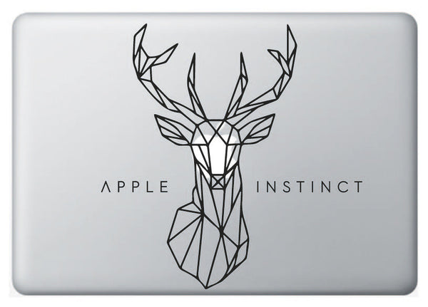 Vinilo Apple Instinct Ciervo para Macbook