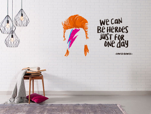 """David Bowie"" para Pared"