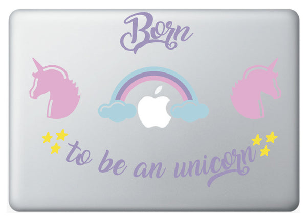 "Vinilo decorativo ""Born to be a Unicorn"""