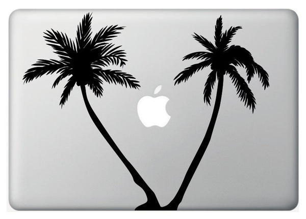 Vinilo decorativo Palmeras para Macbook