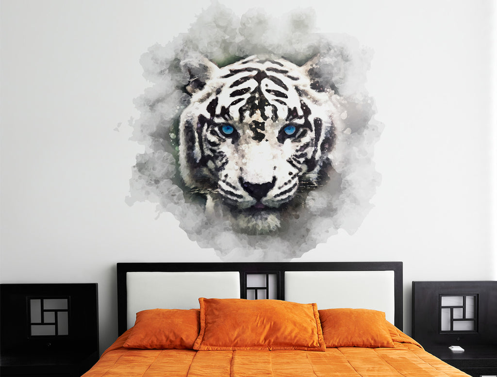 "Vinilo Decorativo ""Watercolor Tiger"" para Pared"