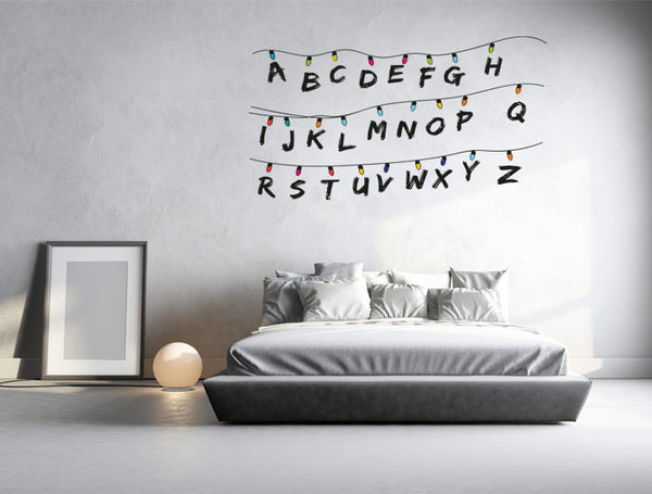 "Vinilo Decorativo ""Stranger Things"" para Pared"