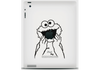 Vinilo Cookie Monster para iPad