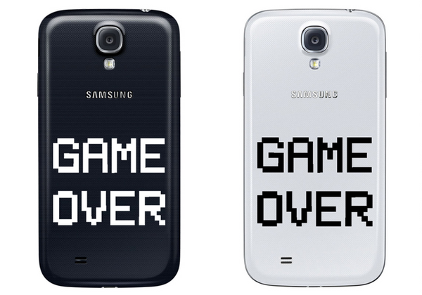 Vinilo Game Over para Smartphone
