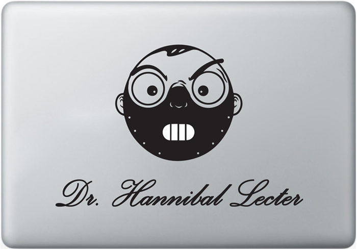 Vinilo Hannibal para MacBook