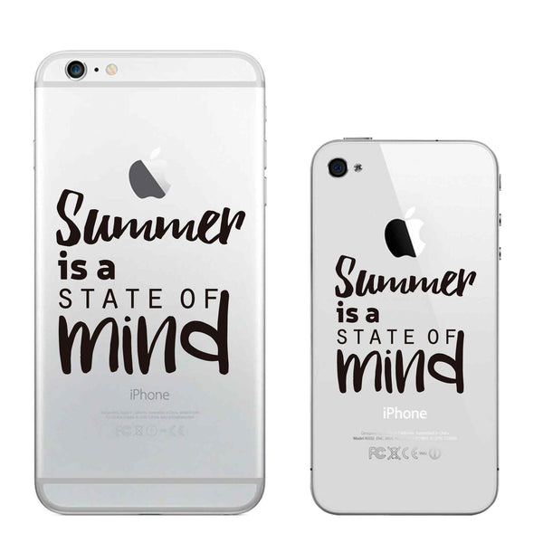 "Vinilo ""Summer is a state of mind"" para Iphone"