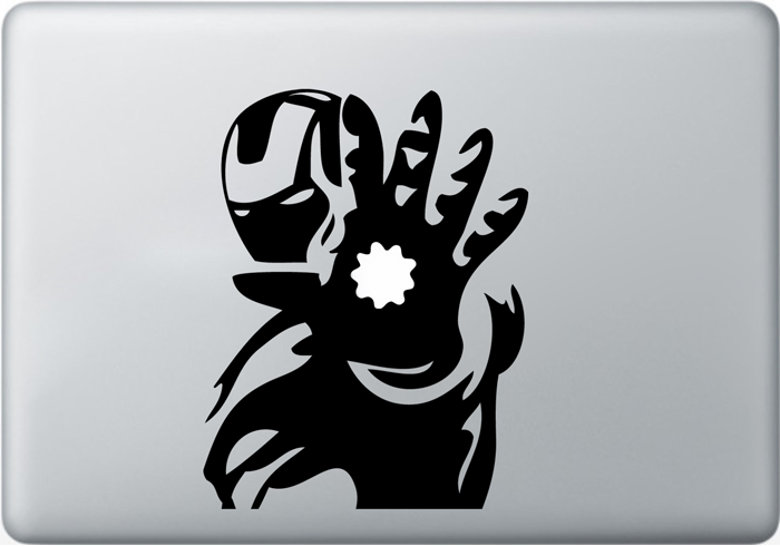 Vinilo Iron Man para MacBook