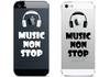 Vinilo Music Non Stop para iPhone