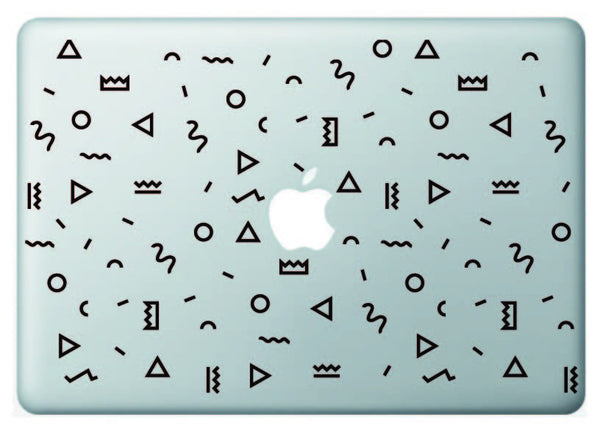 "Vinilo ""Pattern Hipster"" para Macbook"