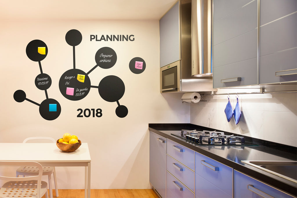 "Vinilo Decorativo ""Planning"" para Pared"