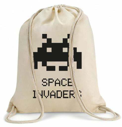 Mochila de Tela Space Invaders