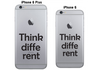 Vinilo Think Different para iPhone