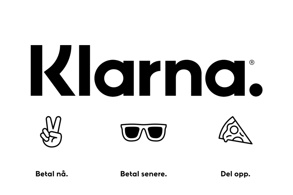 Order now! Pay later with Klarna!