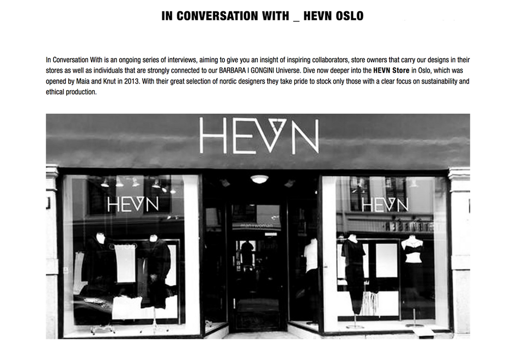 Barbara Í Gongini: In Conversation with HEVN