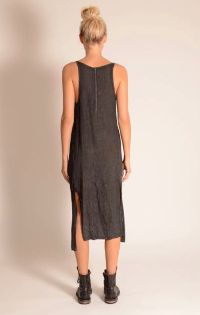 Side split dress