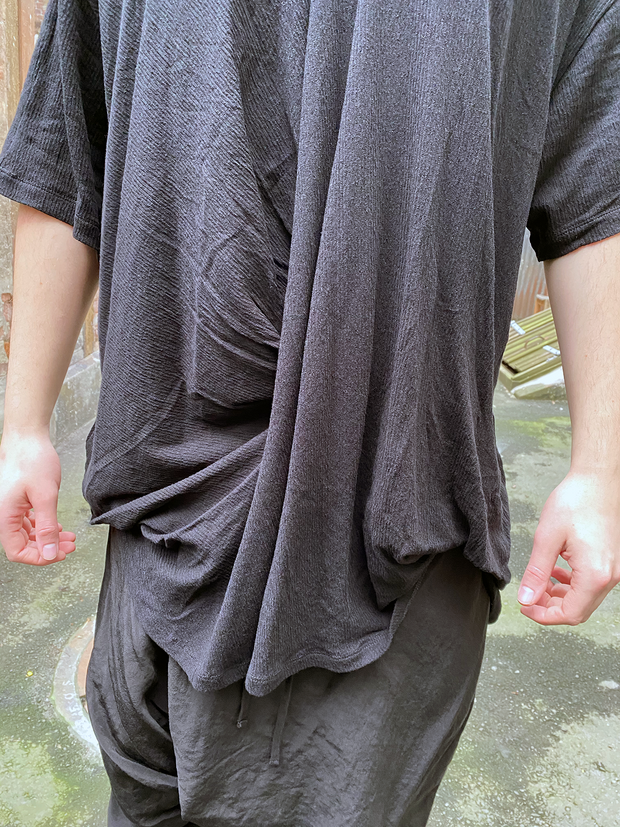 Julius Front draped tee