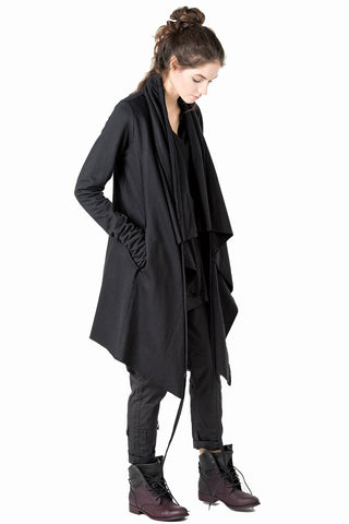 Voler wrap draped cardigan