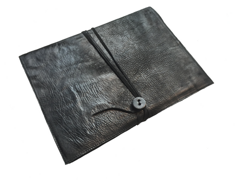 A4 horse leather notebook