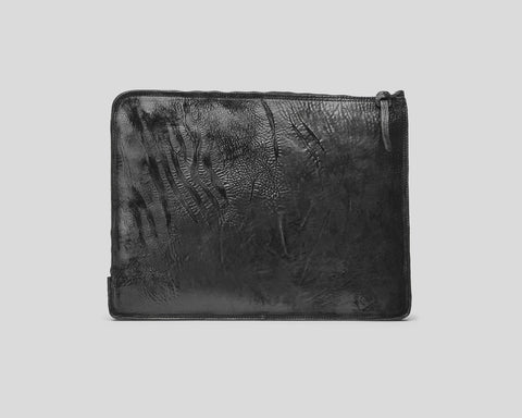 Horse leather laptop cover